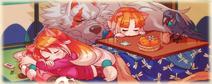 Akane and Nazuna Merch Illustration