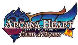Arcana Heart Card of Glory Logo