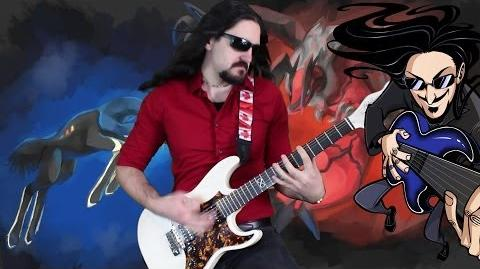 "Pokemon Xerneas Yveltal Theme ""Epic Rock"" Cover (Little V)"