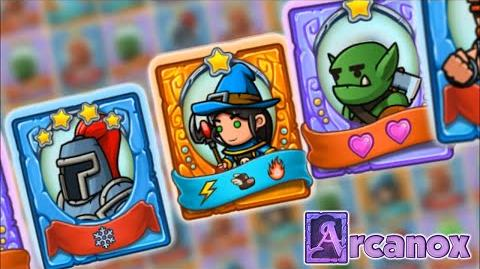Arcanox Cards vs. Castles Trailer Free Combat Strategy Game for Android & iOS