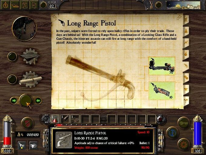 Long Range Pistol