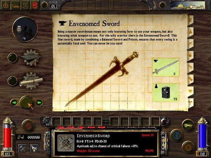 Envenomed Sword