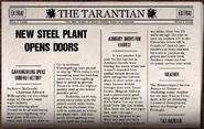 New Steel Plant Opens Doors