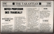 Noted Professor Dies Tragically