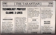 Technology protests claims 3 lives