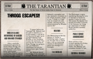 Throgg Escapes!!