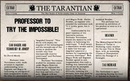 Professor To Try The Impossible!