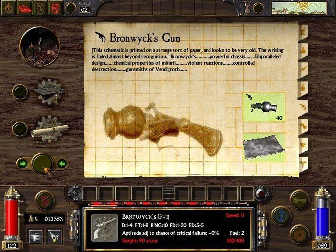 Bronwyck's Gun