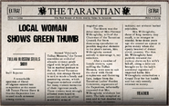 Local Woman Shows Green Thumb