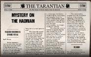 Mystery On The Hadrian