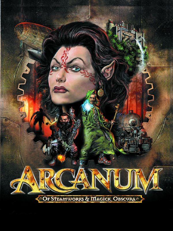 Arcanum cover copy