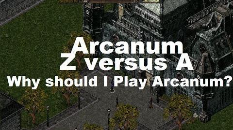 Why Play Arcanum?