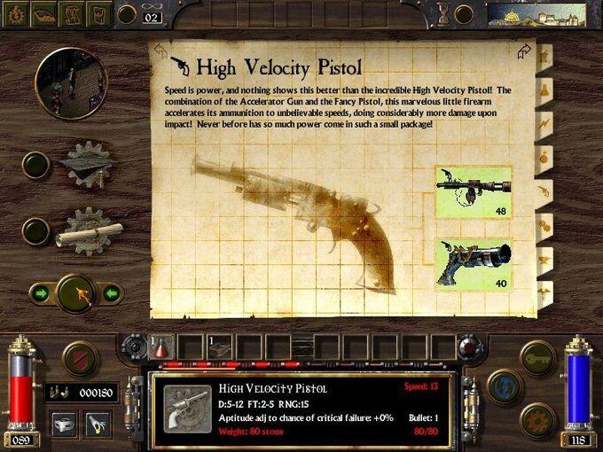 High Velocity Pistol