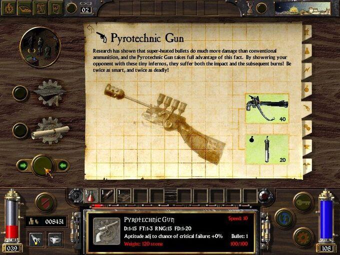 Pyrotechnic Gun