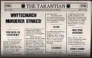 Whytechurch Murderer Strikes!