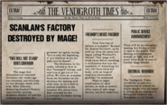 Scanlan's Factory Destroyed By Mage!