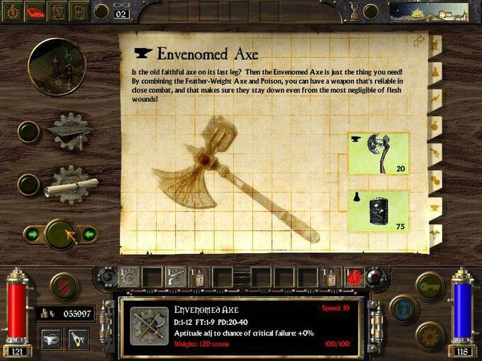 Envenomed Axe