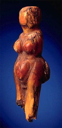 Brown Ivory Figurine