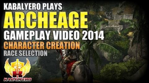 ArcheAge Gameplay 2014 Video ★ Character Creation ★ Race Selection