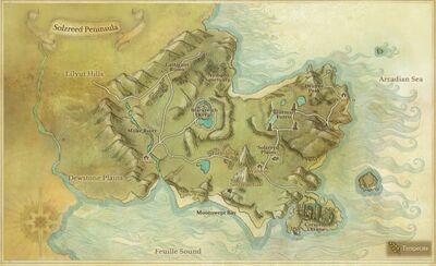Solzreed Peninsula