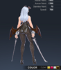 Premium Ridika 3D In-Game Model Back Colour 4