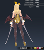 Premium Ridika 3D In-Game Model Back Colour 1