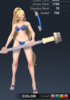 Summer Valle 3D In-Game Model Front Clear Colour