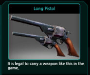 Long Pistol