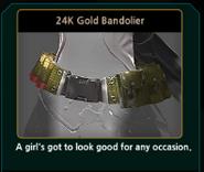 Renoah 24K Gold Bandolier
