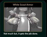 WhiteScoutArmor