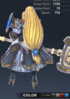 Premium Valle 3D In-Game Model Back Clear Colour