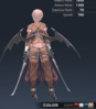Default Ridika 3D In-Game Model Back Colour 4