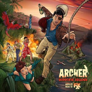 Archer Danger Island Official Poster