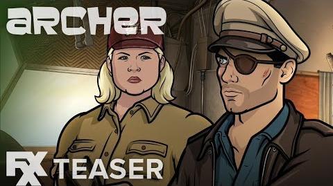 Archer Season 9 Survive Teaser FXX