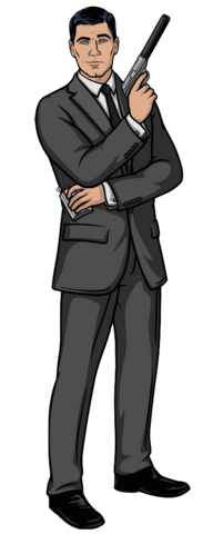 File:Sterling Archer Standing POSE.png