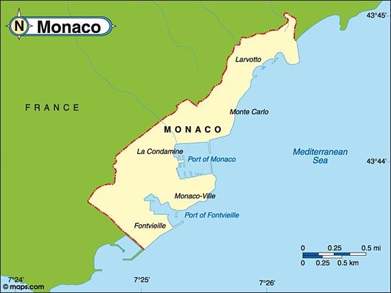 Image Monaco Mapjpg Archer Wiki FANDOM Powered By Wikia - Is monaco a country