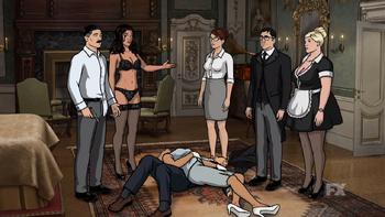 Archer Sex Game