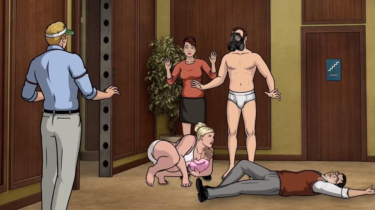 Archer tv show naked ladies, college jock gay porn dildo