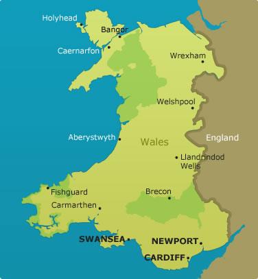 Image Wales mapjpg Archer Wiki FANDOM powered by Wikia