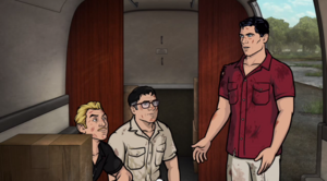 Archer S05 E09 On the Carpet