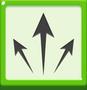 Diagonal Arrows