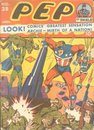 Pep Comics Vol 1 38