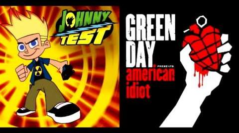 Johnny Test vs. Green Day - Flash Animation Idiot