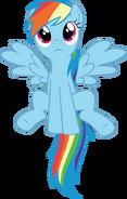 Rainbow dash vector by starboltpony-d3du3qr
