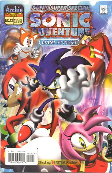 Archie Sonic Super Special Issue 13 Mobius Encyclopaedia