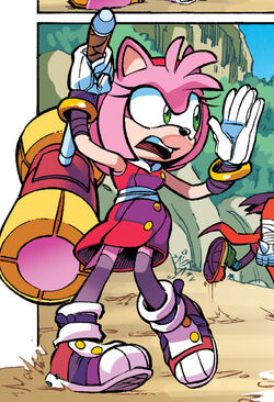Amy Rose Profile - Sonic Boom