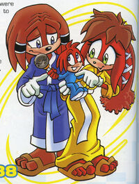 Knuckles Family