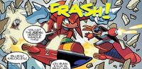 Knuckles and Proto Man