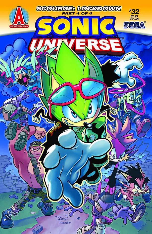 Archie Sonic Universe Issue 32 Mobius Encyclopaedia Fandom