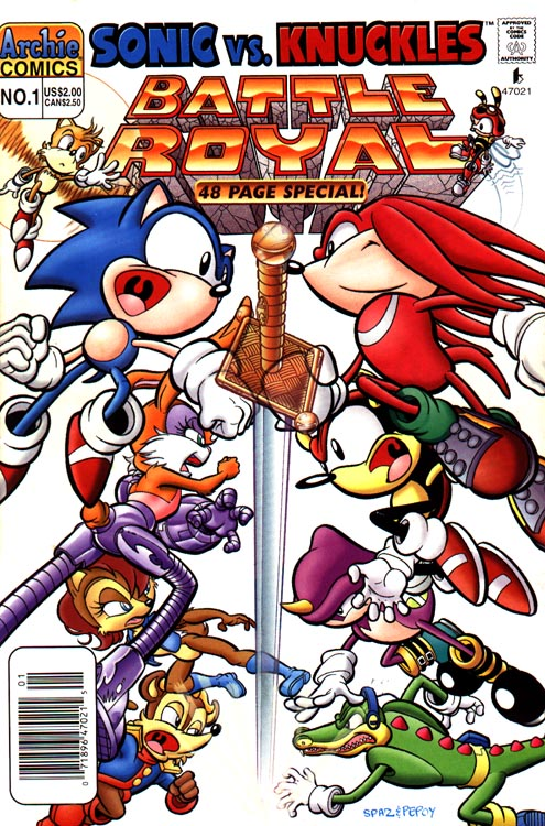 Archie Sonic Super Special Issue 1 | Mobius Encyclopaedia